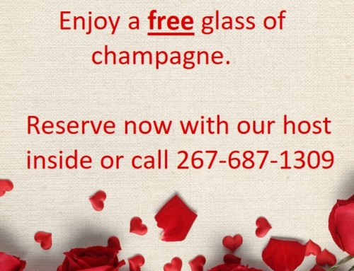 Celebrate with us on St.Valentine's Day